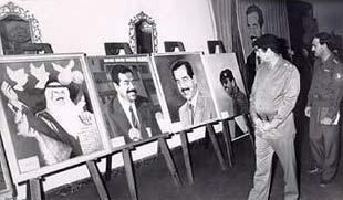 Saddam Hussein Art